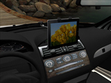 Car gooseneck ipad mount